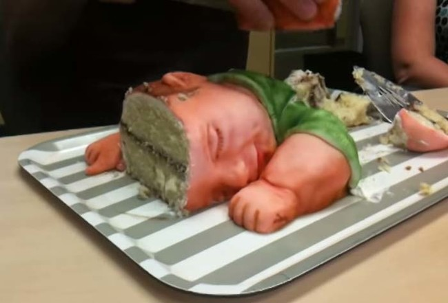 omg who would do such a thing to a baby?