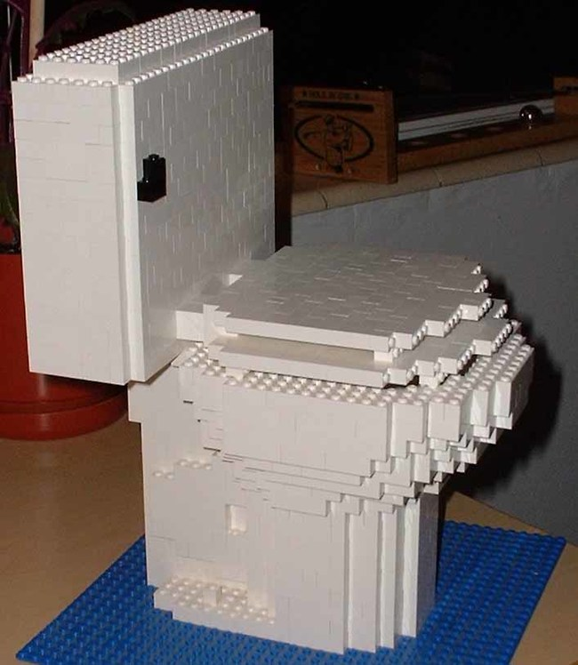Lego Toilet... seriously!
