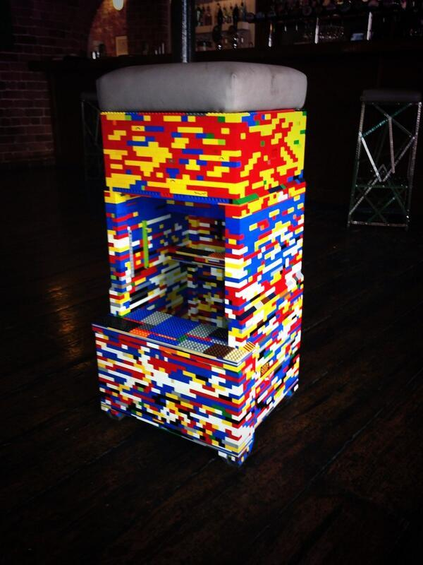 Lego Bar Stool