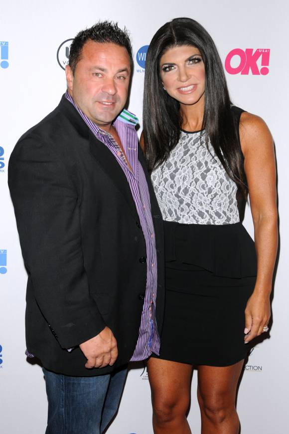 Joe and Teresa Giudice Not only were there allegations that Joe cheated on Teresa -- it was while she was in prison over their fraud conviction!