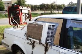 Redneck DIY Projects - Air Conditioned Automobile @ 10GoneViral.com