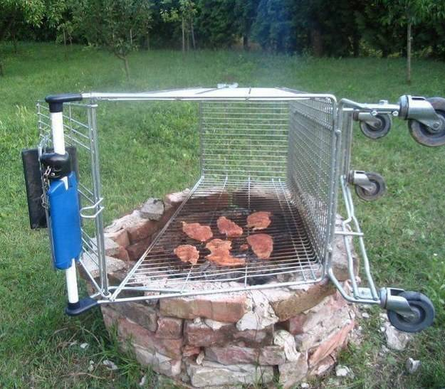 Redneck DIY Projects - In A Pinch Barbecue @ 10GoneViral.com