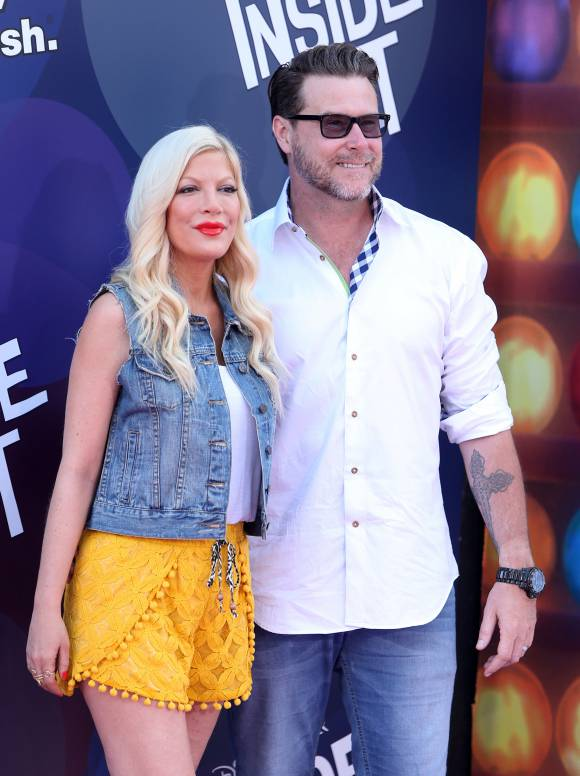 Tori Spelling and Dean McDermott When Dean was caught cheating in 2014, the couple's entire struggle to reconcile was aired on their reality show.