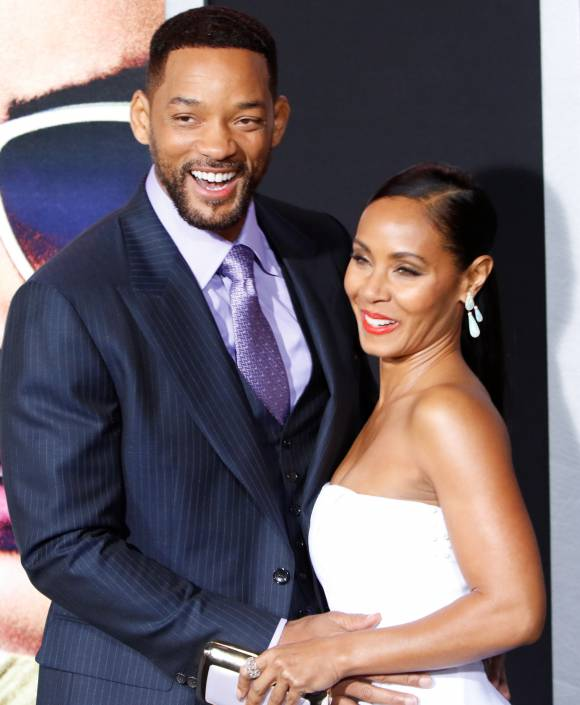 Will Smith and Jada Pinkett Smith Jada was so OK with the rumors that Will cheated with Focus costar Margot Robbie that she let him star in ANOTHER movie with her! Of course, just a few months later, the couple pretty much confirmed they had an open marriage.