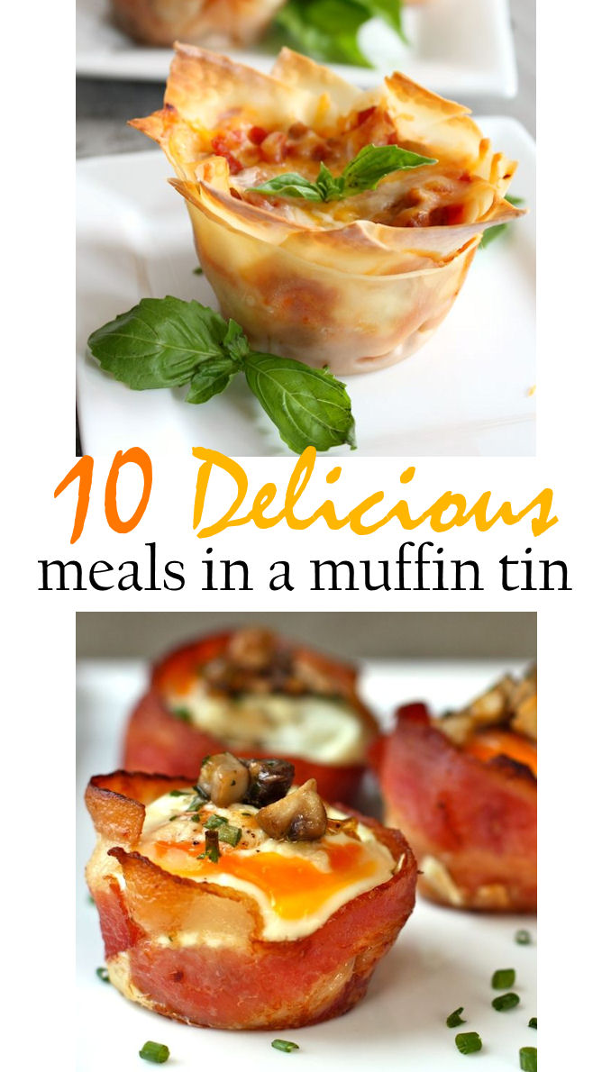 10 delicious meals that you can make in a muffin tin