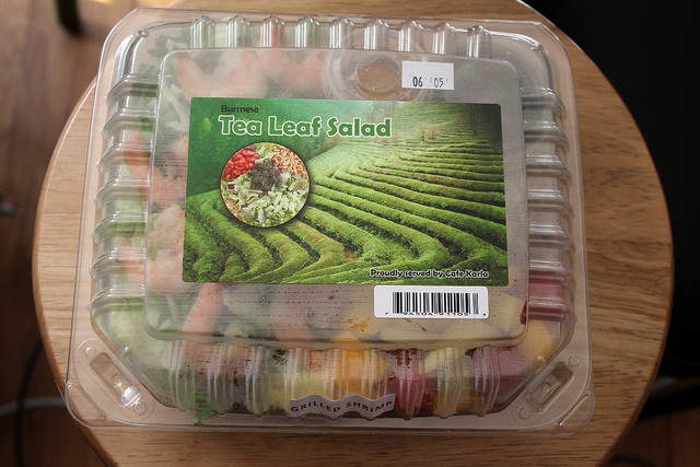 Pre-packaged salads
