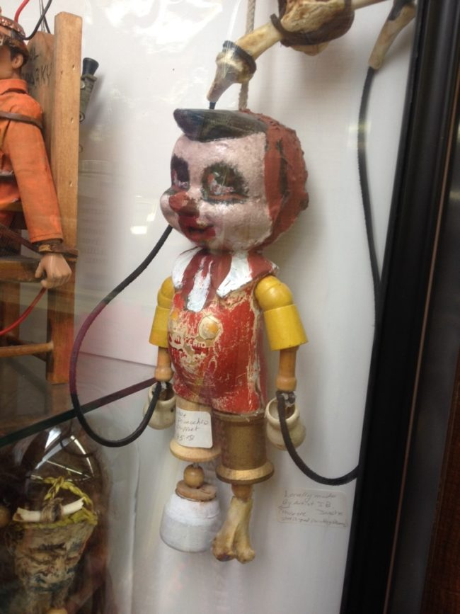 In this case, I really hope Pinocchio doesn't become a real boy.