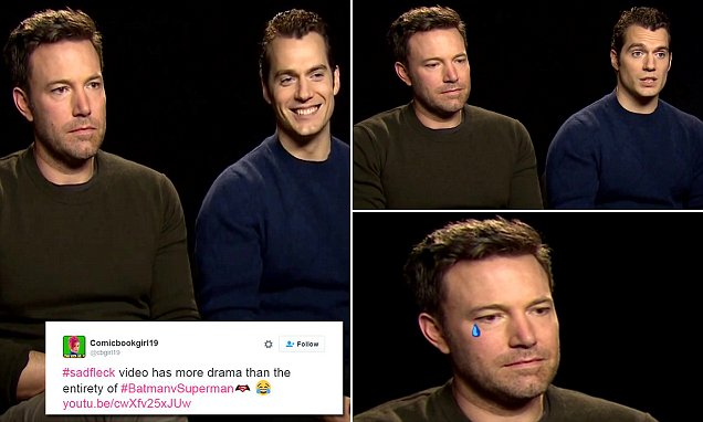 Poor Ben Affleck Is Sad Over Negative Batman Reviews