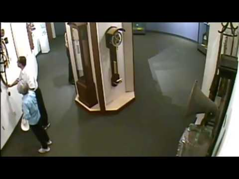 Careless Man Breaks Priceless Antique Clock In Museum