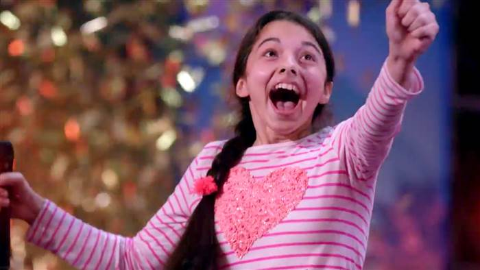 Thirteen Year Old Laura Bretan Wows America's Got Talent With Opera Performance