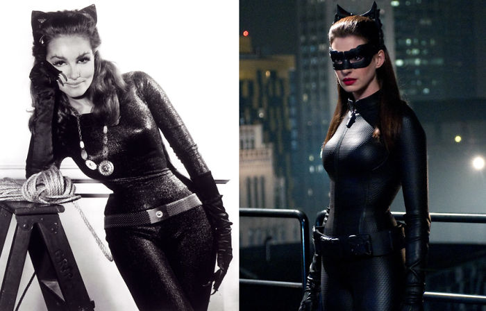 Catwoman 1966 And 2012