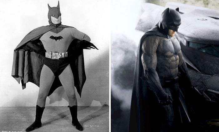 Batman 1943 And 2016