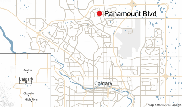 Panamount Blvd Map