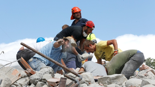 Image result for Canadian among the dead in Italy's earthquake