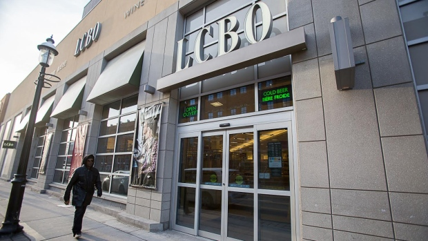 LCBO store exterior