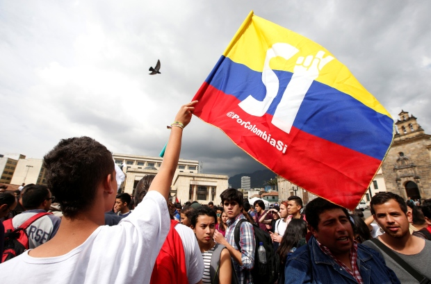 COLOMBIA-PEACE/REFERENDUM -- Oct. 3, 2016