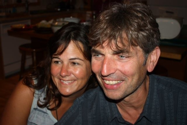 Geoff Taber and Jacquie Gardiner