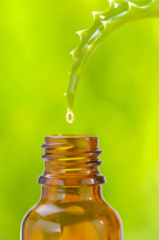 Aloe vera juice can also ease an upset stomach because of its anti-inflammatory properties.