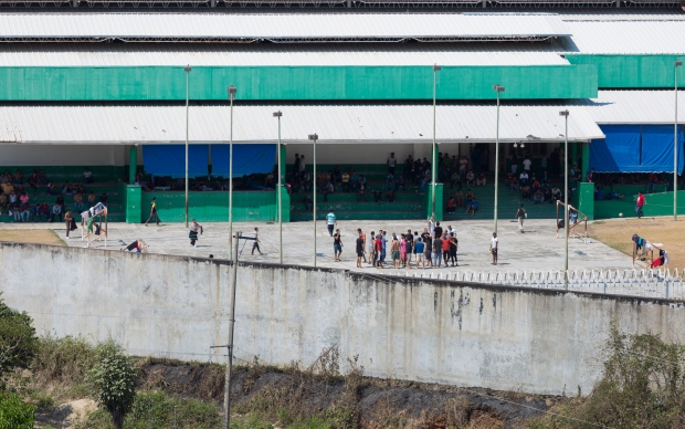 Latin America's largest detention centre