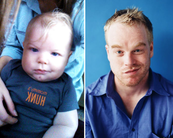 My Baby Cousin Looks Like Young Phillip Seymour Hoffman