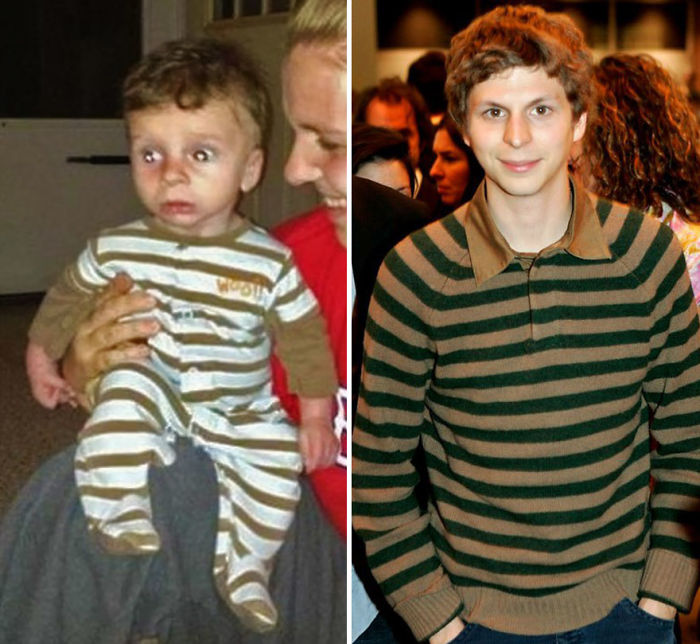 My Old College Roommate Had A Baby Recently. I'm Convinced He Looks Like Michael Cera
