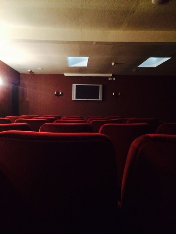 The Hotel's Cinema Room Spared No Expense