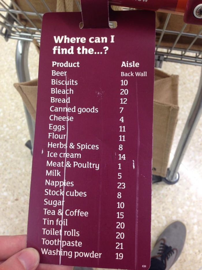 I Wish All Supermarkets Did This
