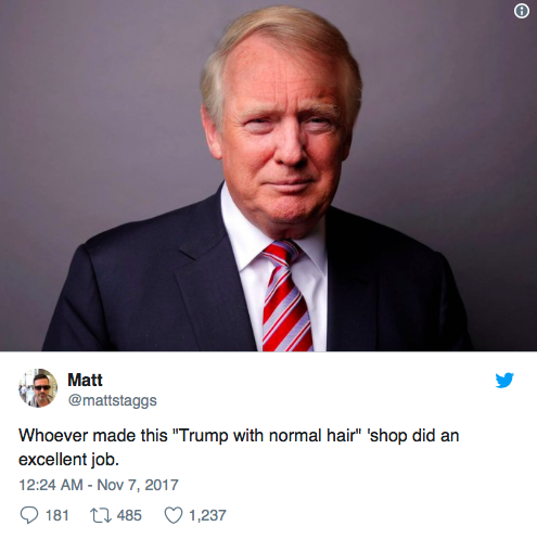 Is Donald Trump Hair Natural Color