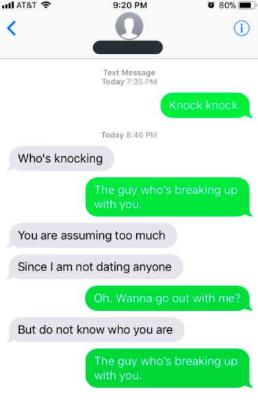 Man Breaks Up With Random People Via Text And The Responses Are