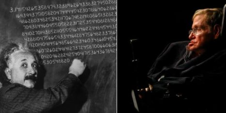 Obviously, the internet totally freaked out when they put two and two (or 3 and .14159) together. Oh, and it's also Albert Einstein's birthday, just in case you didn't think this was weird enough.