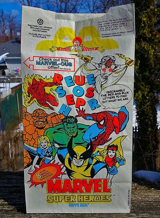 The Old Happy Meal Bags