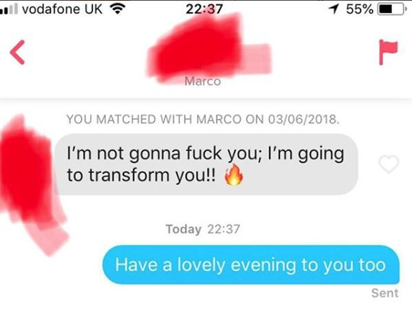 Tinder Nightmares' Has People Sharing The Worst Pickup Lines