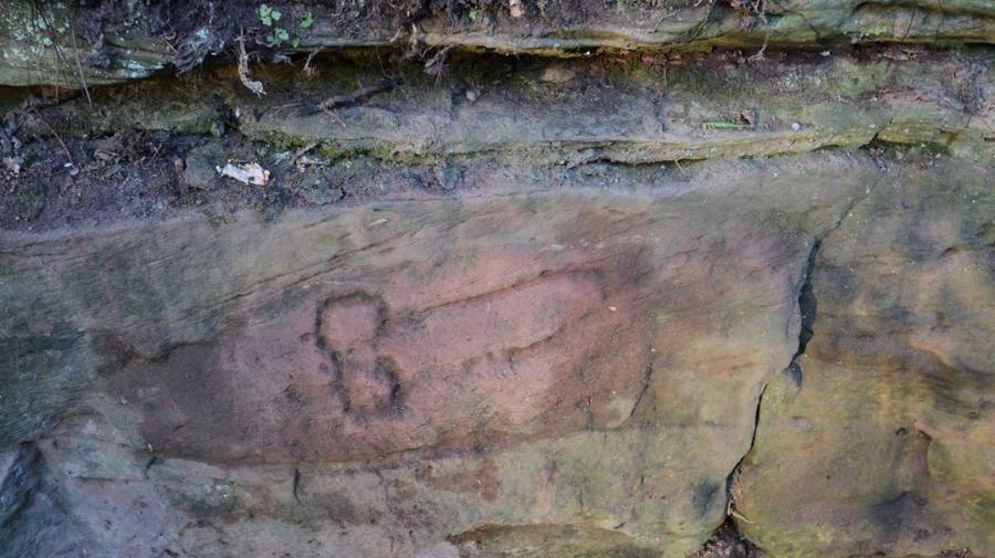 Hadrians Wall Penis Carving