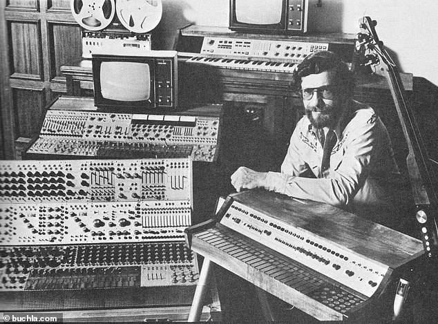 Don Buchla With Synthesizers