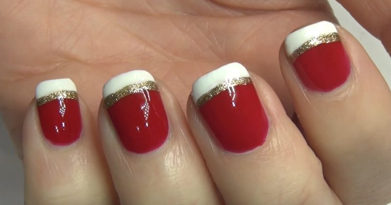 3 Cute And Easy Do-It-Yourself Christmas Nail Polish ...
